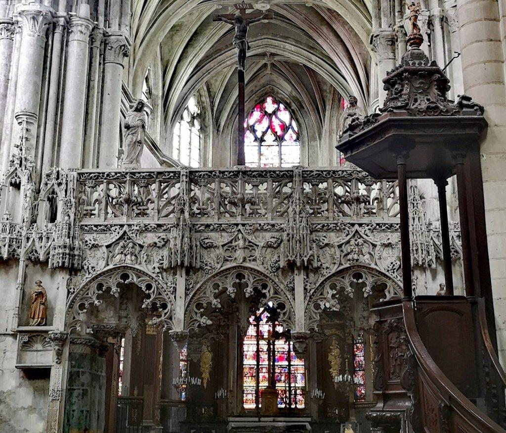 Le jubbé de Sainte Madeleine (Troyes)