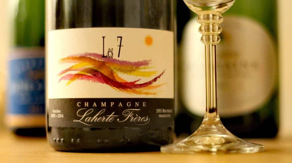 Champagne aux 7 cépages par Laherte frères