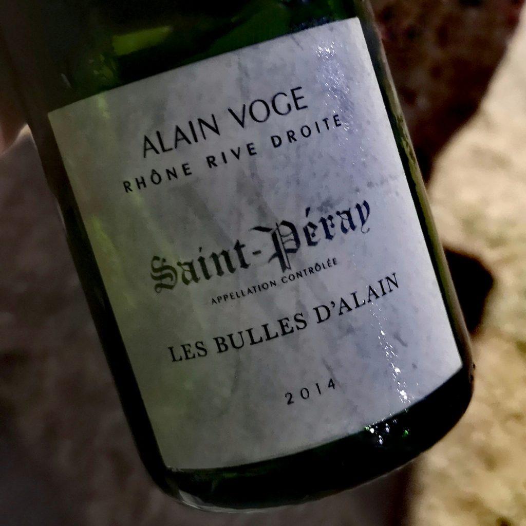 Ma bulle de Saint Peray préférée pour le moment (zéro dosé, 4 ans sur lattes)