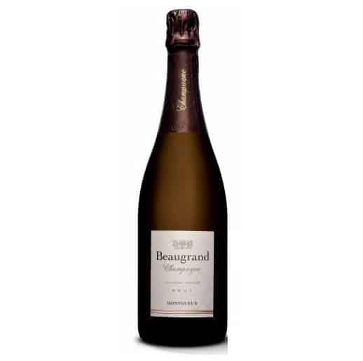 domaine Beaugrand, champagne Brut Nature (demander les prix au domaine, moins de 20€ pour cette pépite !)