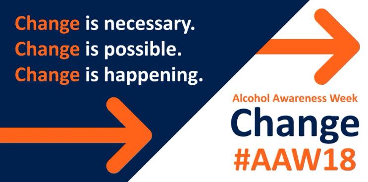 Le type de campagne dry january porté par l'association anti alcool Alcohol Concern