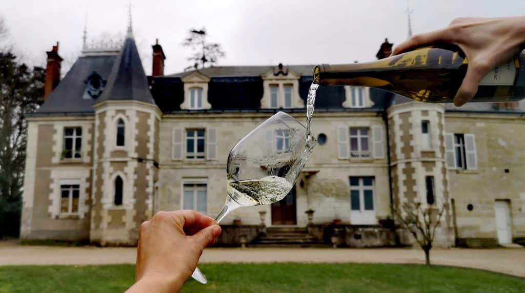 Dégustation des vins ambassadeurs 2021 de l' AOC Touraine au lycée viticole d'Amboise